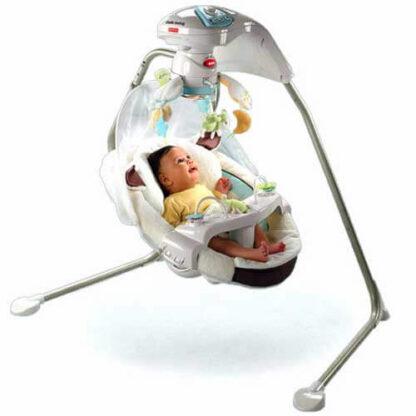 качели для новорожденных овечка fisher-price на прокат