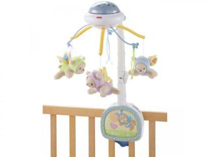 Мобайл-проектор на кроватку «Мечты о бабочках» Fisher-Price на прокат