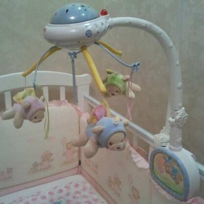 Мобайл-проектор на кроватку «Мечты о бабочках» Fisher-Price на прокат Минск