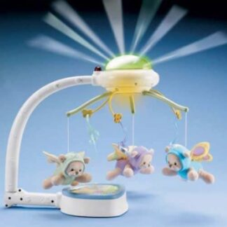Мобайл-проектор на кроватку «Мечты о бабочках» Fisher-Price напрокат
