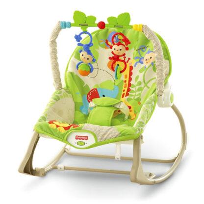 Кресло-качалка Друзья из джунглей Fisher-Price напрокат