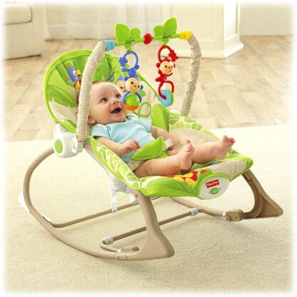 Кресло-качалка Друзья из джунглей Fisher-Price напрокат Минск