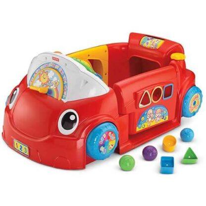 Обучающая игрушка Автомобиль из серии Смейся и учись Fisher-Price на прокат в Минске