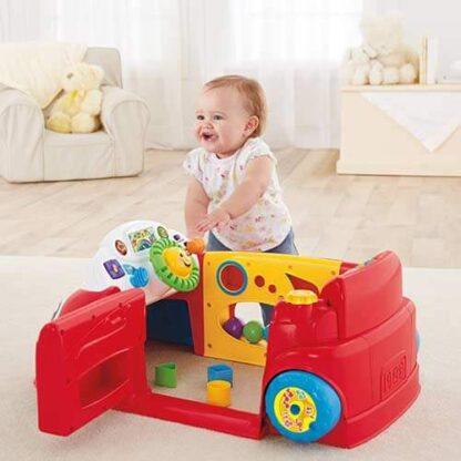 Обучающая игрушка Автомобиль из серии Смейся и учись Fisher-Price прокат Минск