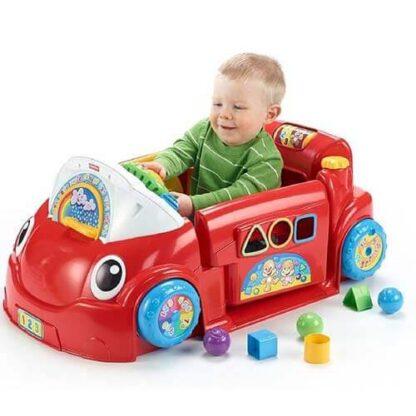 Обучающая игрушка Автомобиль из серии Смейся и учись Fisher-Price прокат в Минске